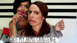 not my arms challenge ft black jo white