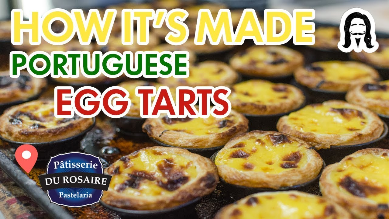 How to make portuguese natas itsallaboutportugesedeserts - How It S Made Montreal S Best Portuguese Egg Tarts Pastel De Nata