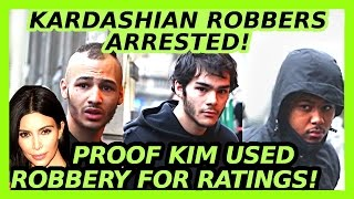 PROOF KIM KARDASHIAN USED PARIS ROBBERY FOR RATINGS!