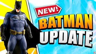Nick Eh 30 reacts to New BATMAN Update in Fortnite!