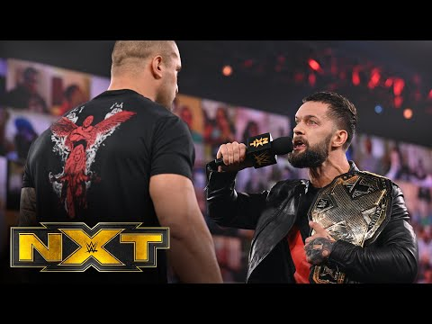 Finn Bálor's heated confrontation with Karrion Kross: WWE NXT, March 17, 2021