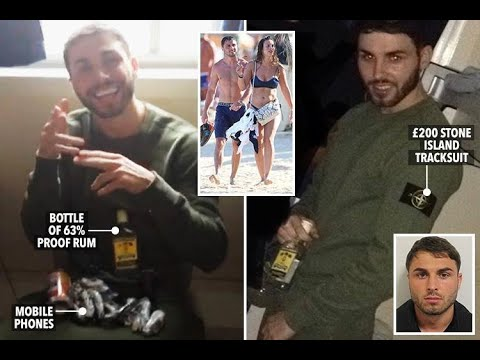 Acid thug Arthur Collins poses with banned phones and booze in prison  - 247 News