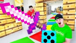 INFINITE GAMEBOARD MINECRAFT CHALLENGE!