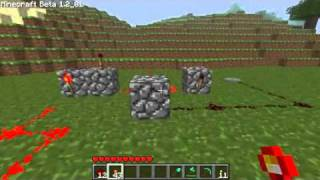 Minecraft - How To Make A Redstone Alarm System [Tutorial]