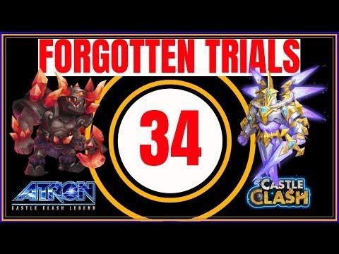 FORGOTTEN TRIALS 34 - BEST STRATEGY - IN-DEPTH BREAKDOWN - CASTLE CLASH