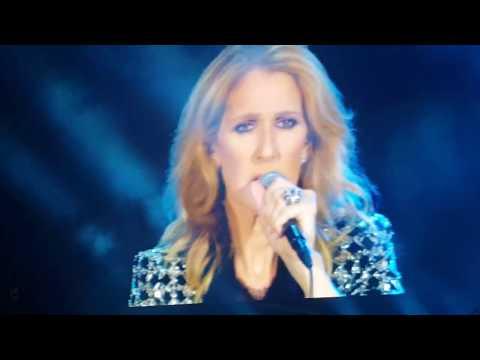 """Céline Dion  """" Encore un soir  """"  NICE 2017"""