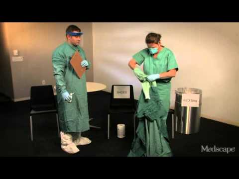 EBOLA  CDC Enhanced Guidelines For Wearing PPE