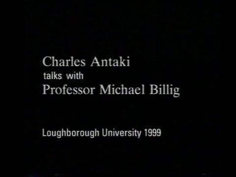 DARGchive Special: Charles Antaki interviews Michael Billig (1999)