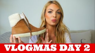 NEW BOOTS AND SHOES FOR WINTER || VLOGMAS DAY 2