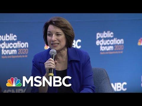 Amy Klobuchar On Why Teachers Shouldn't Be Armed | MSNBC