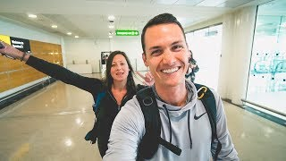 Gambar cover DUBAI TO NASHVILLE | Qantas Airways | Home for the Weekend!