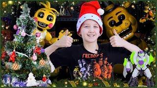 Кирилл, Джереми и Свинотрон готовятся ко встрече Нового Года Опыты для детей Аниматроники FNaF