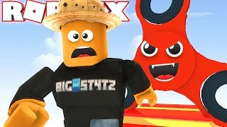 ESCAPE THE EVIL FIDGET SPINNER in ROBLOX!!