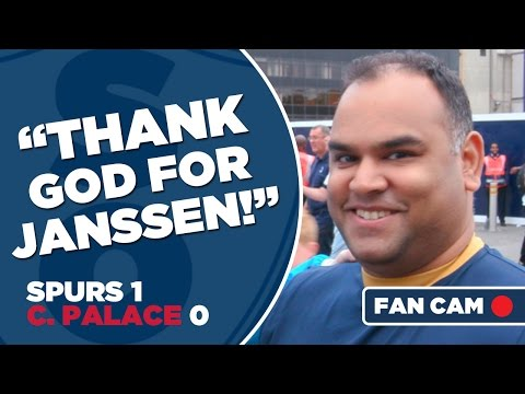 "Tottenham Hotspur 1-0 Crystal Palace | ""Thank God For Janssen!"" 