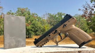 Is Tungsten carbide BulletProof? - FN 5.7 vs steel