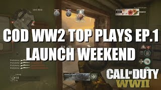 COD WW2 TOP 10 BEST PLAYS EPISODE #1 (COMMENTARY)