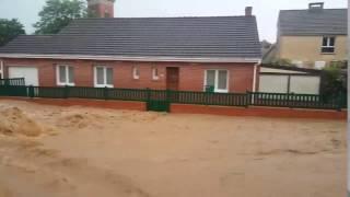 Inondations Nord Pas De Calais 07/06/2016