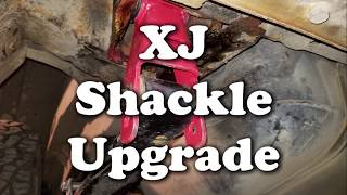 Installing Longer Spring Shackles -  Jeep Cherokee (XJ)