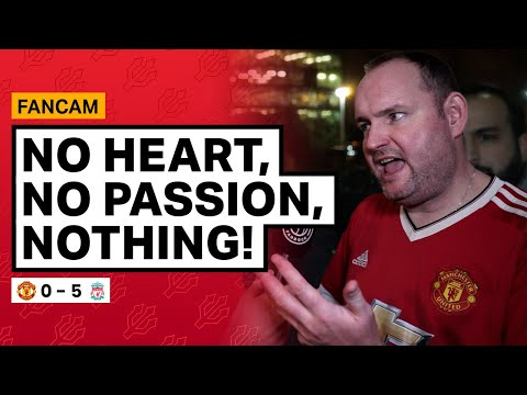 This Is Finished! | Andy Tate Fancam | Manchester United 0 5 Liverpool