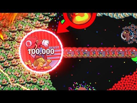 GOTA.IO // 1 MARIO VS 1000 LUIGI'S AND THE WORLDS WILDEST TIMED DOUBLESPLIT EVER!