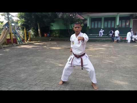 Karate kata 1,2,3,4,5