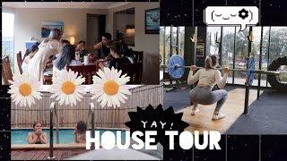 House Tour Nhà Ở Úc/ Ngày Tập Chân