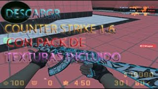 😱COMO DESCARGAR COUNTER STRIKE 1.6 PARA UBUNTU LINUX Y WINDOWS (MEDIAFIRE)😱