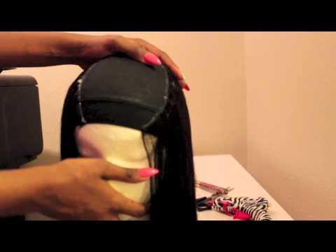 Making My Bobbi Boss Indi Remi Wig With A Closure NO SEWING!