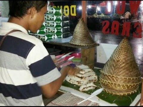 Kue Dongkal Indonesian Traditional Food Youtube