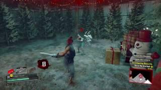 Dead Rising 4 Investigate the Rumors Defeat Sadistic Claus Get Electric Axe