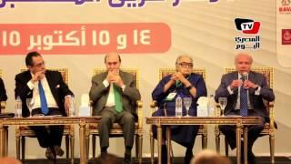 صلاح دياب بمؤتمر أخبار اليوم الإقتصادي: «نظام الري بالغمر جريمة في حق مصر»