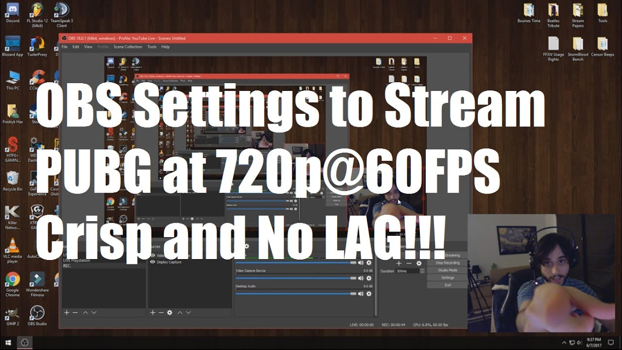 How To Stream Pubg Pfps Simple Obs Settings Guide