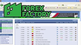 How to Analyze|use and read news Data forex factory news calendar|forex factory gold strategy