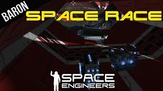 Space Engineers Multiplayer Gameplay - Epic Space Race
