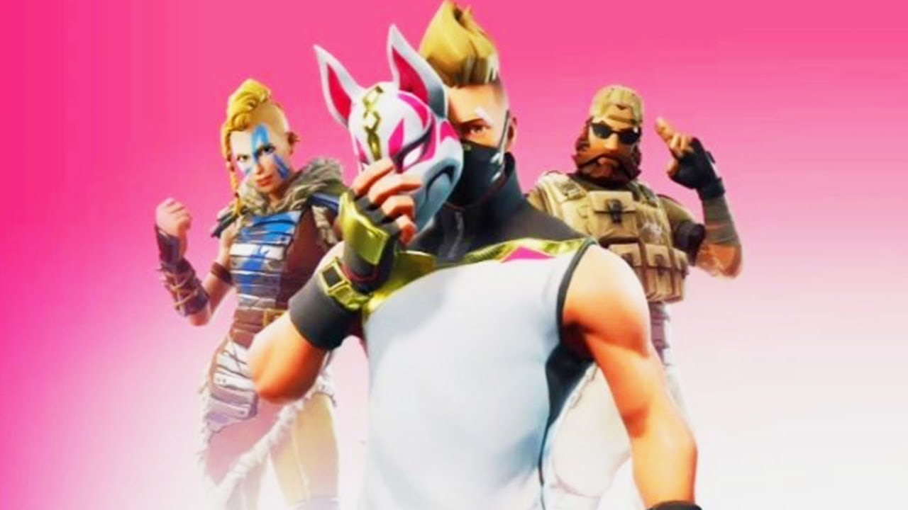 Fortnite Season 5 Skins Released Youtube