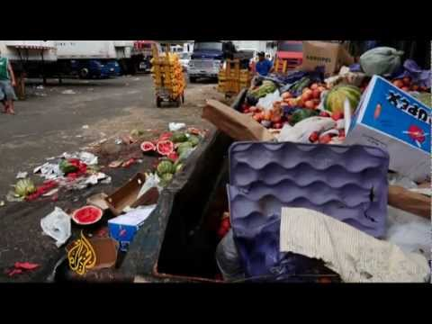 Brazil attempts to cut down on food waste