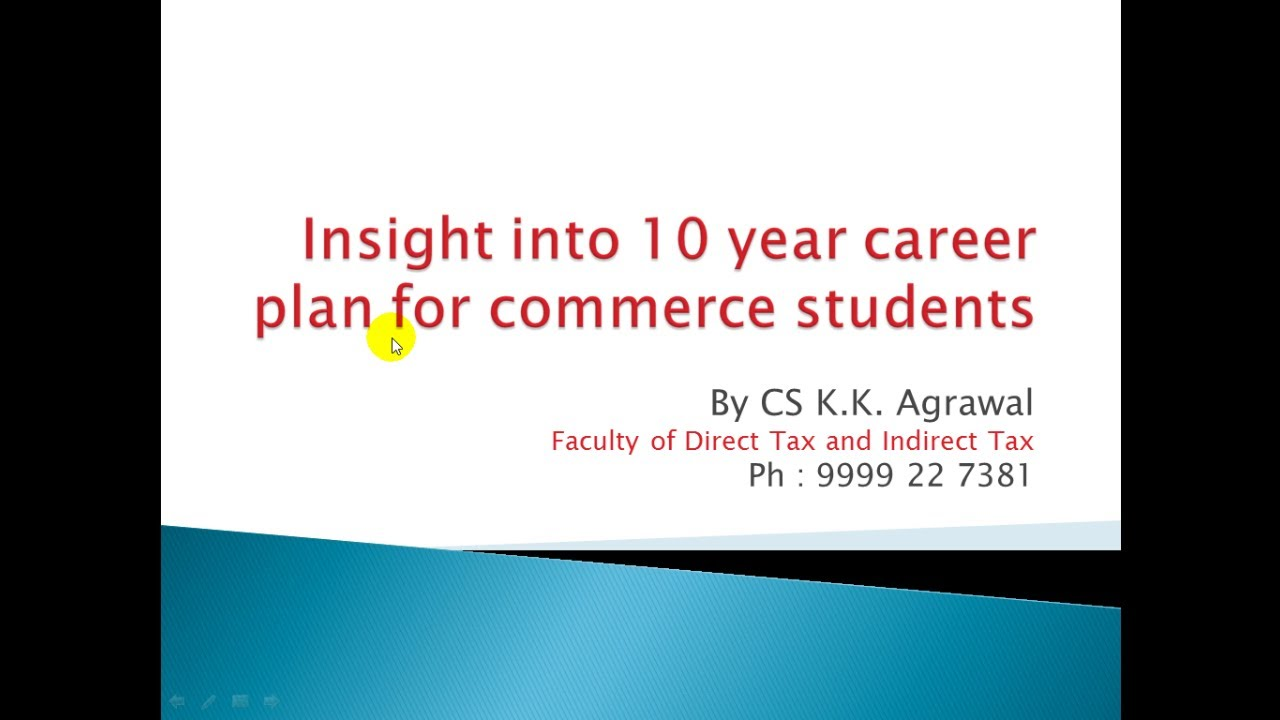 How To Chose Career Just After 12th Commerce