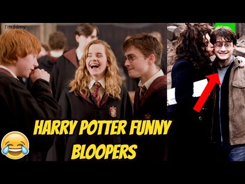 Harry Potter Funny Bloopers and Gag Reel - Try Not to Laugh with Emma Watson