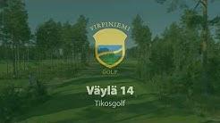 Virpiniemi Golf: Väylä 14, Oulun Porakaivot