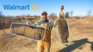 Walmart RACCOON TRAPPING Challenge in My BACKYARD!!!