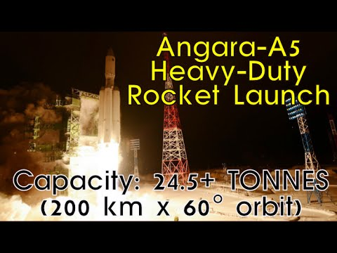 Russia Successfully Launches Eco-Friendly Angara-A5 Rocket | #SciTech, #Space