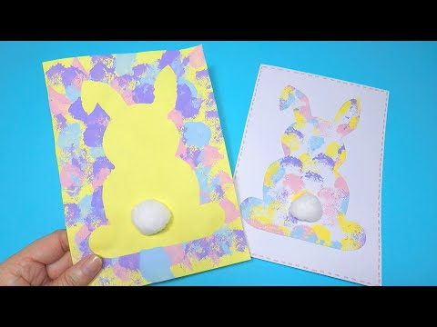 easy-easter-bunny-card-craft-|-easter-crafts-for-kids