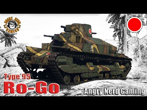 "War Thunder: Type 95 ""Ro-Go"", Japanese Premium, Rank-1, Heavy Tank"