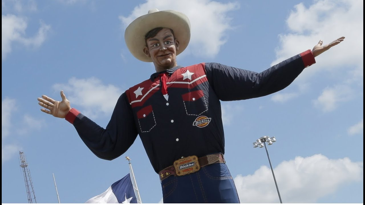 Big tex gets down in 4k youtube publicscrutiny Image collections