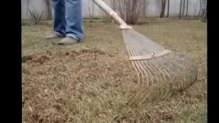 Как восстановить газон после зимы.(, 2015-03-03T22:53:09.000Z)