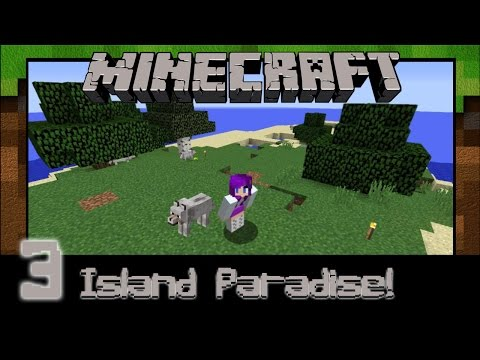 *Gaming With Crystal* Minecraft Ep 3(Island): Party of Death!