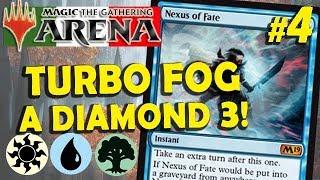 Turbo Fog con Wilderness Reclamation su RNA #4 (MTG Arena ITA)
