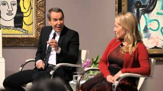 Jeff Koons and Diana Picasso on the Zervos
