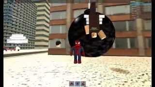 Roblox I AM SPOODERMAN ( the Amazon spiderman 2 )