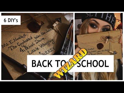 DIY Harry Potter School Supplies